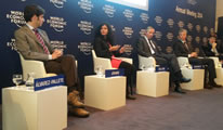 Ms.Wricha at World Economic Forum